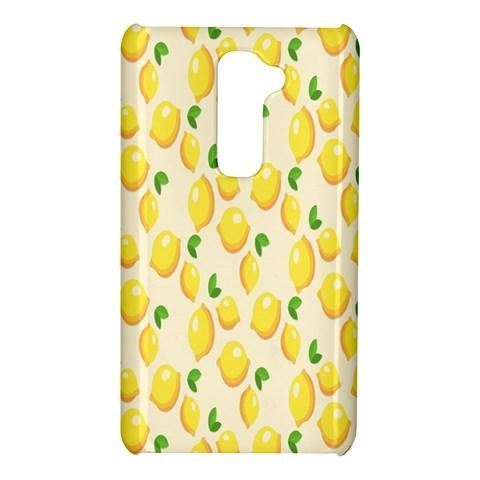 Pattern Template Lemons Yellow LG G2