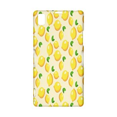 Pattern Template Lemons Yellow Sony Xperia Z1