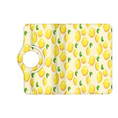 Pattern Template Lemons Yellow Kindle Fire HD (2013) Flip 360 Case