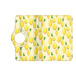 Pattern Template Lemons Yellow Kindle Fire HD (2013) Flip 360 Case Front
