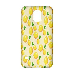 Pattern Template Lemons Yellow Samsung Galaxy S5 Hardshell Case