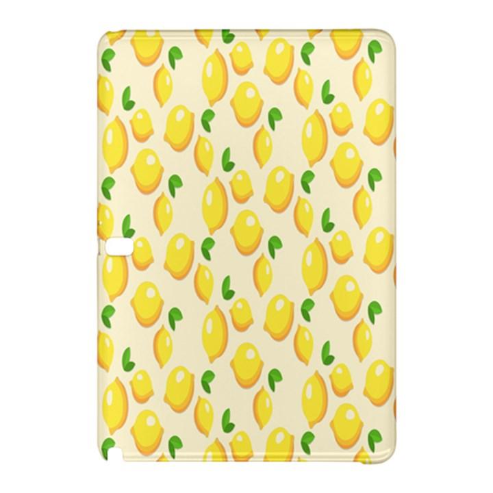 Pattern Template Lemons Yellow Samsung Galaxy Tab Pro 10.1 Hardshell Case