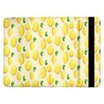 Pattern Template Lemons Yellow Samsung Galaxy Tab Pro 12.2  Flip Case Front