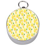 Pattern Template Lemons Yellow Silver Compasses Front