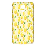 Pattern Template Lemons Yellow Samsung Galaxy S5 Back Case (White) Front