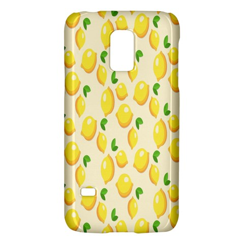 Pattern Template Lemons Yellow Galaxy S5 Mini