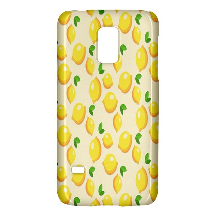 Pattern Template Lemons Yellow Galaxy S5 Mini