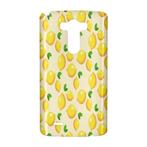 Pattern Template Lemons Yellow LG G3 Hardshell Case
