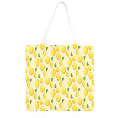 Pattern Template Lemons Yellow Grocery Light Tote Bag