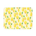 Pattern Template Lemons Yellow Double Sided Flano Blanket (Mini)  35 x27 Blanket Back
