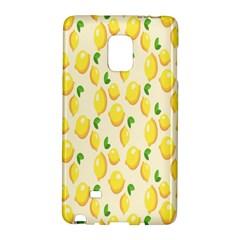 Pattern Template Lemons Yellow Galaxy Note Edge