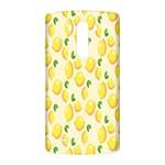 Pattern Template Lemons Yellow LG G3 Back Case Front