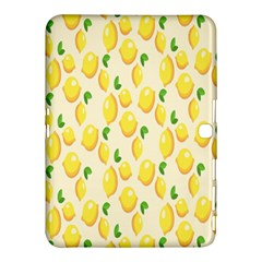 Pattern Template Lemons Yellow Samsung Galaxy Tab 4 (10.1 ) Hardshell Case