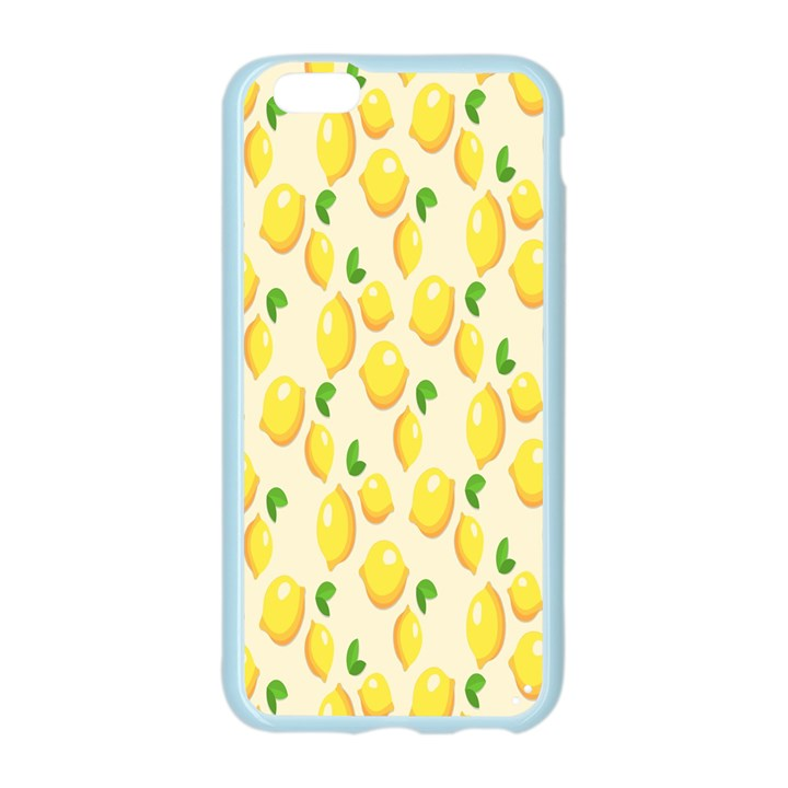 Pattern Template Lemons Yellow Apple Seamless iPhone 6/6S Case (Color)