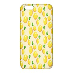 Pattern Template Lemons Yellow iPhone 6/6S TPU Case