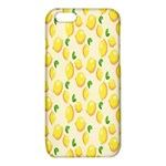 Pattern Template Lemons Yellow iPhone 6/6S TPU Case Front