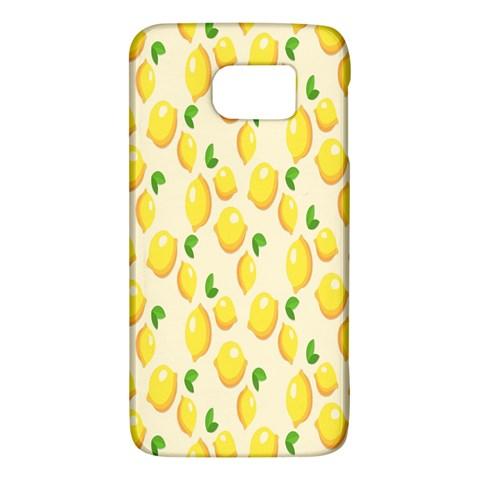 Pattern Template Lemons Yellow Galaxy S6