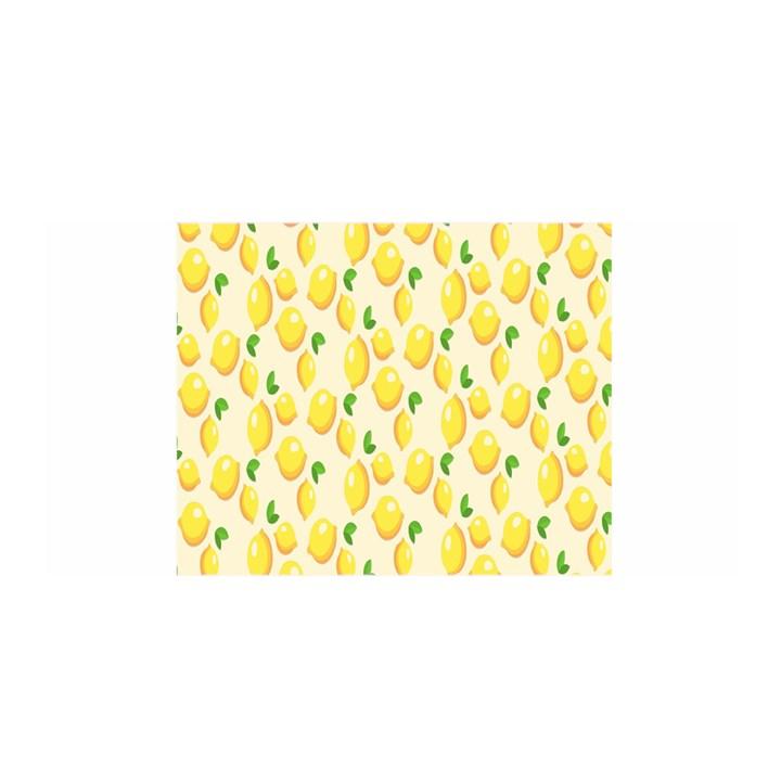 Pattern Template Lemons Yellow Satin Wrap