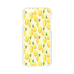 Pattern Template Lemons Yellow Apple Seamless iPhone 6/6S Case (Transparent)