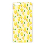 Pattern Template Lemons Yellow Apple Seamless iPhone 6 Plus/6S Plus Case (Transparent) Front