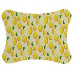 Pattern Template Lemons Yellow Jigsaw Puzzle Photo Stand (Bow) Front