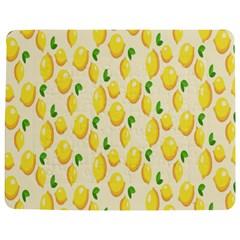 Pattern Template Lemons Yellow Jigsaw Puzzle Photo Stand (Rectangular)