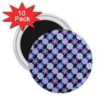 Snowflakes Pattern 2.25  Magnets (10 pack)  Front