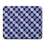 Snowflakes Pattern Large Mousepads Front