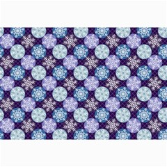 Snowflakes Pattern Collage Prints