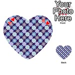 Snowflakes Pattern Playing Cards 54 (Heart)  Front - HeartA