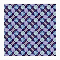 Snowflakes Pattern Medium Glasses Cloth (2 Side)