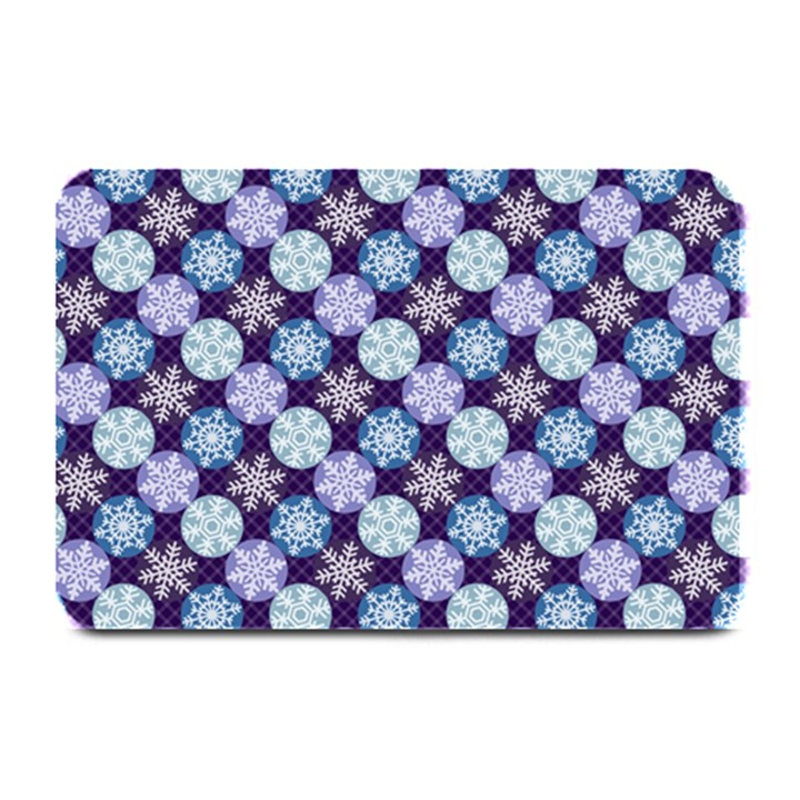 Snowflakes Pattern Plate Mats