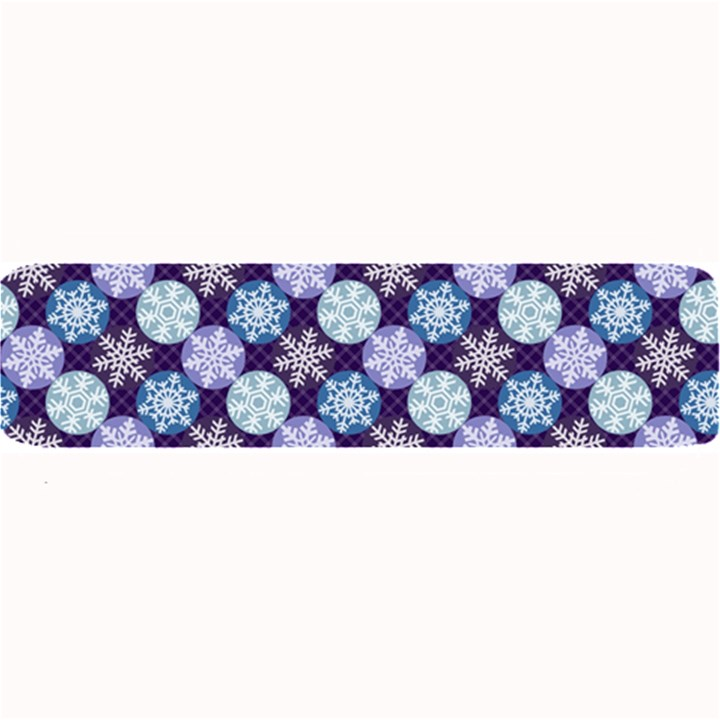 Snowflakes Pattern Large Bar Mats