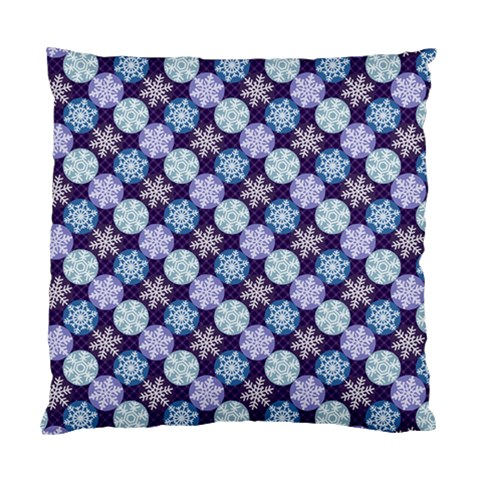 Snowflakes Pattern Standard Cushion Case (One Side)