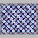 Snowflakes Pattern Canvas 14  x 11  14  x 11  x 0.875  Stretched Canvas