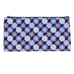 Snowflakes Pattern Pencil Cases Front