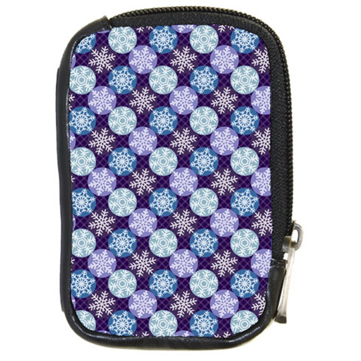Snowflakes Pattern Compact Camera Cases