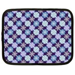 Snowflakes Pattern Netbook Case (XL)  Front
