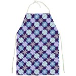 Snowflakes Pattern Full Print Aprons Front