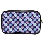 Snowflakes Pattern Toiletries Bags 2-Side Front