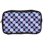 Snowflakes Pattern Toiletries Bags 2-Side Back