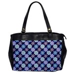 Snowflakes Pattern Office Handbags Front