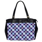 Snowflakes Pattern Office Handbags (2 Sides)  Front