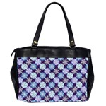 Snowflakes Pattern Office Handbags (2 Sides)  Back
