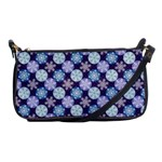 Snowflakes Pattern Shoulder Clutch Bags Front