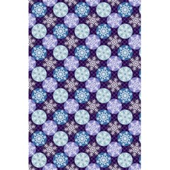 Snowflakes Pattern 5.5  x 8.5  Notebooks