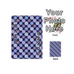 Snowflakes Pattern Playing Cards 54 (Mini)  Front - Joker1