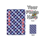 Snowflakes Pattern Playing Cards 54 (Mini)  Front - Joker2
