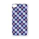 Snowflakes Pattern Apple iPhone 4 Case (White) Front