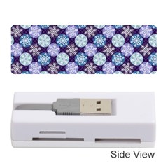 Snowflakes Pattern Memory Card Reader (Stick)
